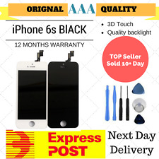 for iPhone 6S Black LCD Screen Replacement Digitizer Display 3D Touch Assembly