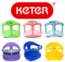 Infant KETER Baby Bath Tub Ring Safety Seat Anti Slip Chair Child Toy