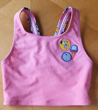 NWT HANNA ANDERSSON PINK PEANUTS SNOOPY SWIMSUIT TANKINI TOP 110 120 130 140 150