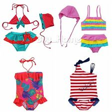 Toddler Baby Girl Kid Swimsuit Bathing Tankini Bikini Set Swimwear Beachwear!