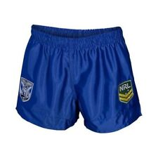 Canterbury Bulldogs 2017 NRL Kids Supporter Shorts BNWT Rugby League Clothing