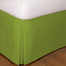 1 Qty Bed Skirt/Valance 1000 TC Pkt Drop 35 Cm Egyptian Cotton Sage Solid