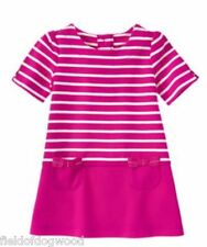 NWT Gymboree Charm Class Striped pocket Dress 12 18 24mo  toddler girls