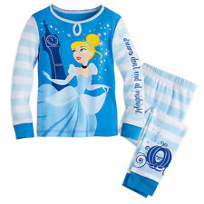 NWT Disney Store Cinderella PJ Pals Pajama Set Girls Princess SZ 10