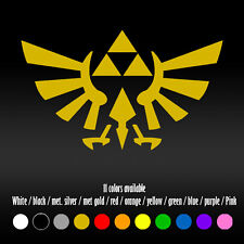 "6"" Legend Of Zelda Triforce Eagle Diecut Bumper Car Window Vinyl Decal sticker"