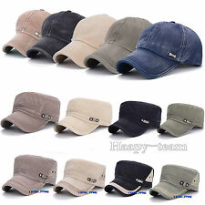 Men Women Cap Baseball Caps Hat Adjustable Polo Style Washed Plain Solid Visor