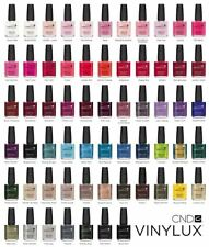 CND Vinylux UV Nail Polish Weekly Wear Choose ANY NEW Colours or Top Coat (P1)