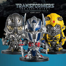 2017 TRANSFORMERS 5 THE LAST KNIGHT OPTIMUS PRIME BUMBLEBEE MEGSTRON FIGURES