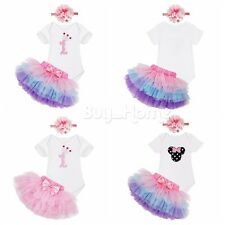 Newborn Baby Girl Floral Casual Romper Jumpsuit Bodysuit Outfits Bowknot Clothes