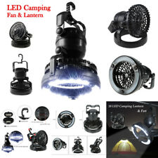 LED Camping Fan Light Headlamp Hanging Tent Lantern Hiking Fishing Bicycle Lamp