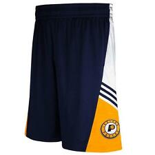 Indiana Pacers Adidas 2014 Men's Navy Pre-Game Basketball Shorts