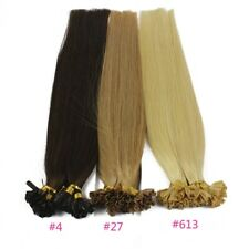 1g/s 100g Human Remy HairKeratin Nail U tip Hair Extensions 24inch-30inch