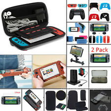 For Nintendo Switch 2DS 3DS XL LL Travel Carrying Bag Case Shell W/ Accessories
