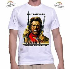 CLINT EASTWOOD Outlaw Josey Wales COWBOY WESTERN MOVIE Retro Vintage  T SHIRT
