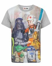 Lego Star Wars The Force Is Strong Boy's T-Shirt