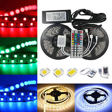 1M-20M SMD 300Leds 3528 5050 5630 SMD RGB LED Flexible Strip Light Adapter 12V