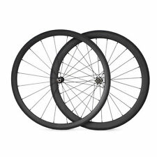 38+50mm Tubular Carbon Wheels Carbon Road Bike Bicycle Straight Pull Wheelset