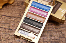 eyeshadow palette makeup tools 5 Color Eye Shadow Palette with brush