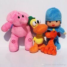 """Pocoyo Elly Pato Loula Plush Doll Figures Toy 6"""" - 10"""" **Choose your character*"""