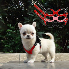 Cute Teacup Dog Harness Soft Vest Pet Puppy Chihuahua Hand Strap for toy Poodle