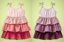 2pc set BABY GAP Butterfly Canyon Ombre tiered tank summer dress & baby bloomers