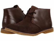 UGG Australia Mens Leighton Lace Up Casual Chukka Ankle Boots Dress Shoes