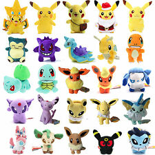 Rare Pokemon Collectible Plush Character Soft Toy Stuffed Doll Teddy Gift Kid