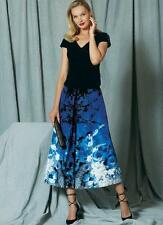 V1519 Vogue Sewing Patterns Misses' Surplice Top and Full, Pleated Skirt New