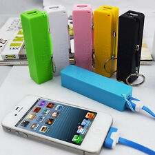 Portable Charger, 2600mAh Power Bank External Battery for iPhone 6 7 6s, Samsung