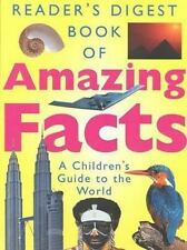 Book of Amazing Facts Editors of Reader's Digest Hardcover