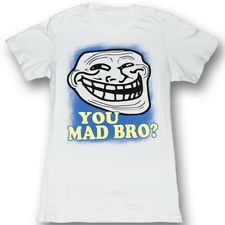 U Mad? You Mad Bro? Meme GIF Trending You Mad Bro? Blue Spray Paint Jrs T-Shirt