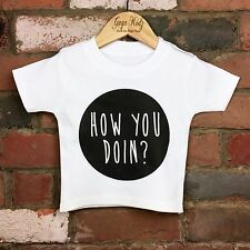Friends T-Shirt - How You Doin Tee - Funny Baby/Kids Clothes - Friends Baby Gift
