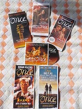 """""""ONCE"""" FLYER + FREE PROMO CD, West End, London Theatre Musical - LAST FEW!"""