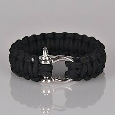 Ultimate Unisex Paracord Outdoor Camping Bracelet] Parachute Cord Wristband
