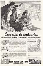 1949 New York Central: Come On In (13970) Print Ad