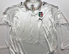 Italy national team long sleeve white jersey by Puma