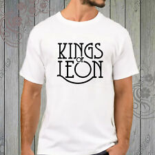 Kings of Leon Indie Rock Band White T-Shirt tee shirt XS-2XL