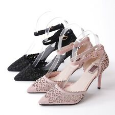 womens US fashion high heels pointed toe casual pumps dress shoes size