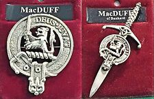 MacDuff Scottish Clan Crest Badge or Kilt Pin Ships free in US