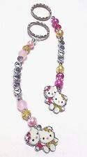 Hello Kitty Personalised keyring (you chose the name ), handcrafted