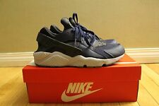 Nike Air Huarache Navy Blue Dark Gray Black  Size 9.5 and 10 Style 318429-409