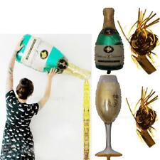 Champagne Wine Bottle Big Balloon Tassel Foil Balloon Christmas Wedding Party