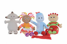 400-500mm/4PCS KIDS  PLUSH SOFT TOYS FROM IN THE NIGHT GARDEN VARIATION TOYS