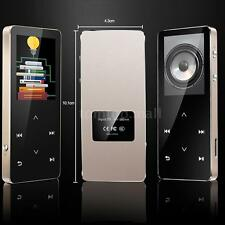 Bluetooth HiFi Metal MP3 Player Portable Audio 8GB FM Radio Voice Record TF U3L1