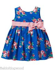 NWT Gymboree Gazebo Party Floral Dress dress 3-6,12 18 24 M Baby girls Toddler
