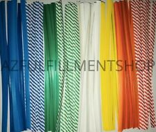 "10,000 Twist Ties 7"" Length Plastic Coated No Rip Paper Ties Cello General Use"