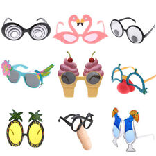 MagiDeal Funny Assorted Party Glasses Eyeglasses Tropical Hallowmas Costume