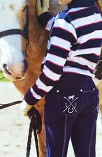New GIRLS Thomas Cook Horse Riding Jodhpur Navy Stylish 6