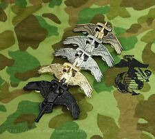 FIVE US MARINE CORPS SPECIAL OPERATION FORCES MARSOC BADGE PIN USMC MARSOC BADGE