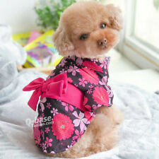Summer Pet Dress Small Medium Dog Clothes Puppy Cat Dress Skirt Costumes Poodle